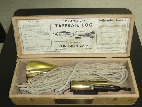 Bliss American Taffrail Log  Adjustable Rotator