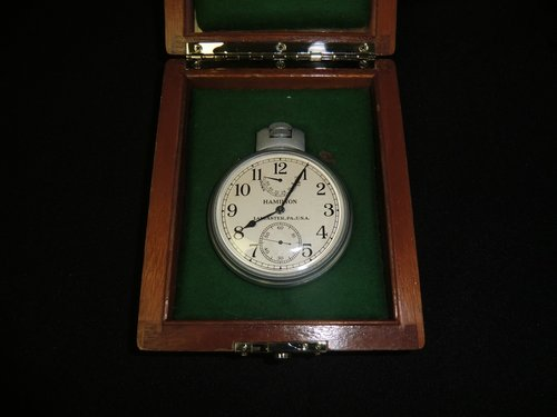 Chronometer US Navy Hamilton Lancaster P.A. USA  22 21 Jewels
