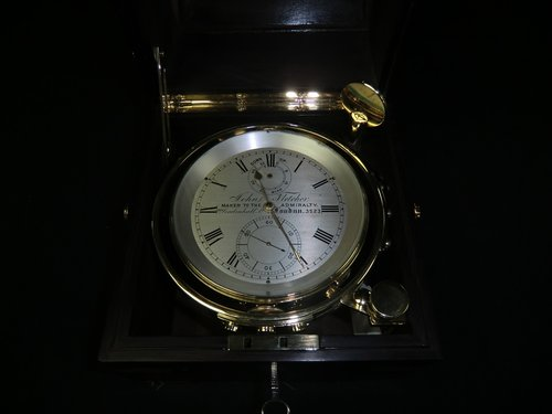 Chronometer John Fletcher Maker to the Admiralty -- Kiste Fletcer