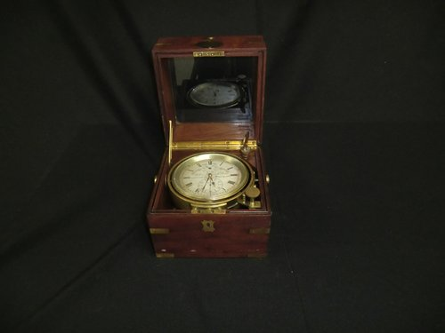 Chronometer John Bruce und Sons Liverpool Nr. Makers to the  Admiralty, Gold Medal Liverpool 1886