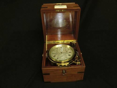 Chronometer Whyte Thomson Maker to the Admiralty Clan Line