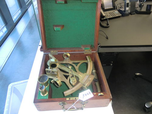 Sextant Sewill Maker of the Royal Navy Liverpool Nr 1222
