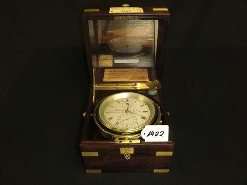 Chronometer Matheson & Co -- Kiste John Parkers & Sons